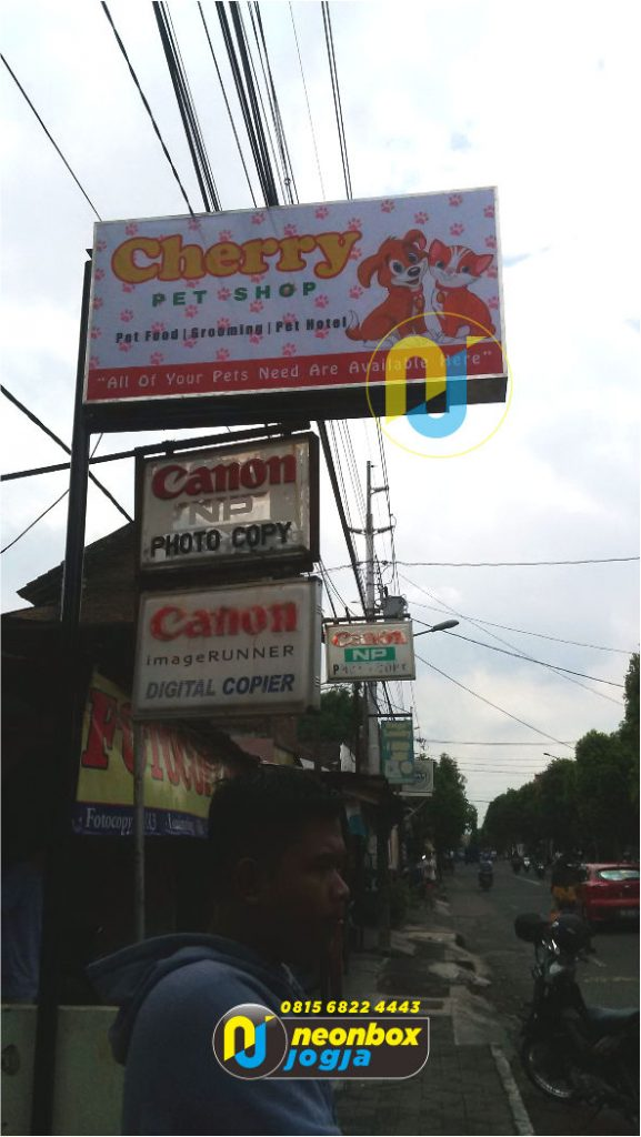 Jasa Neon Box Backlite Di Jogja