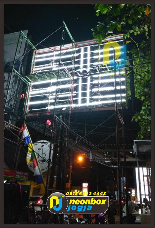 Jasa Neon Box Backlite Murah di Jogja