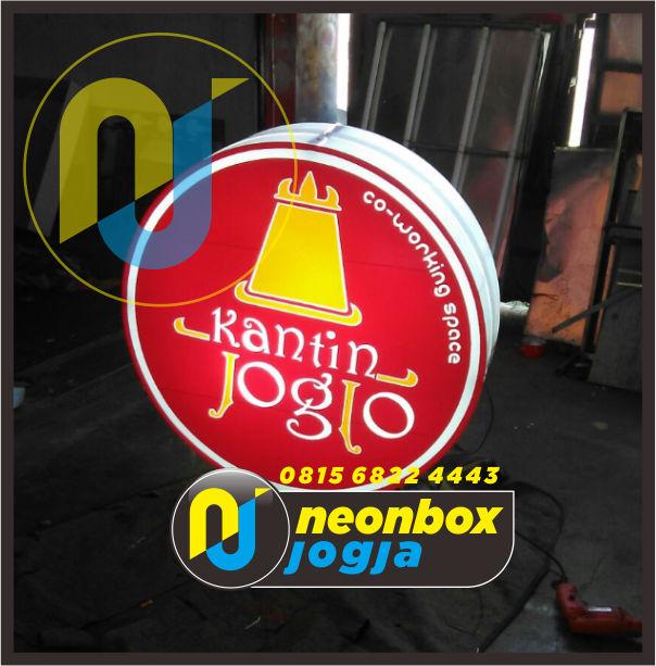 Jasa Neon Box Murah di Jogja