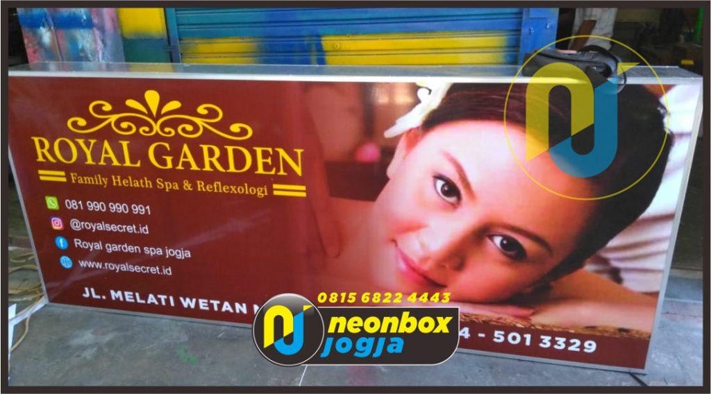 Jasa Pemasangan Neon Box Jogja