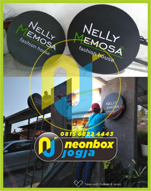 Neon Box Bulat