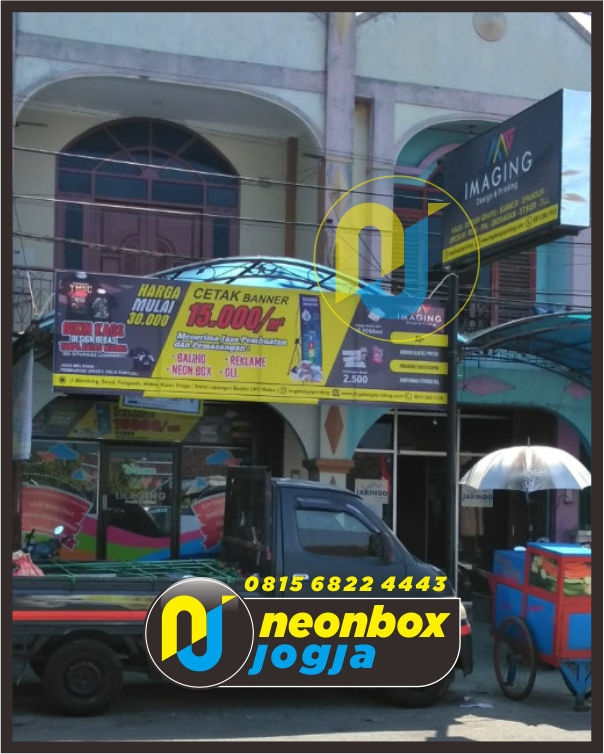 Neon box Backlite Jogja