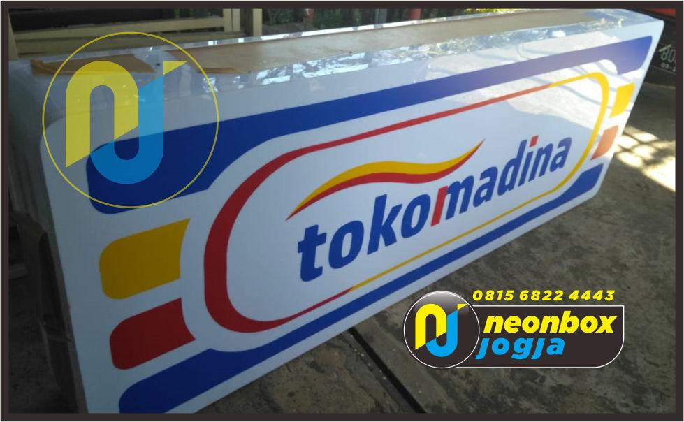 Pembuatan Neon Box Murah di Jogja