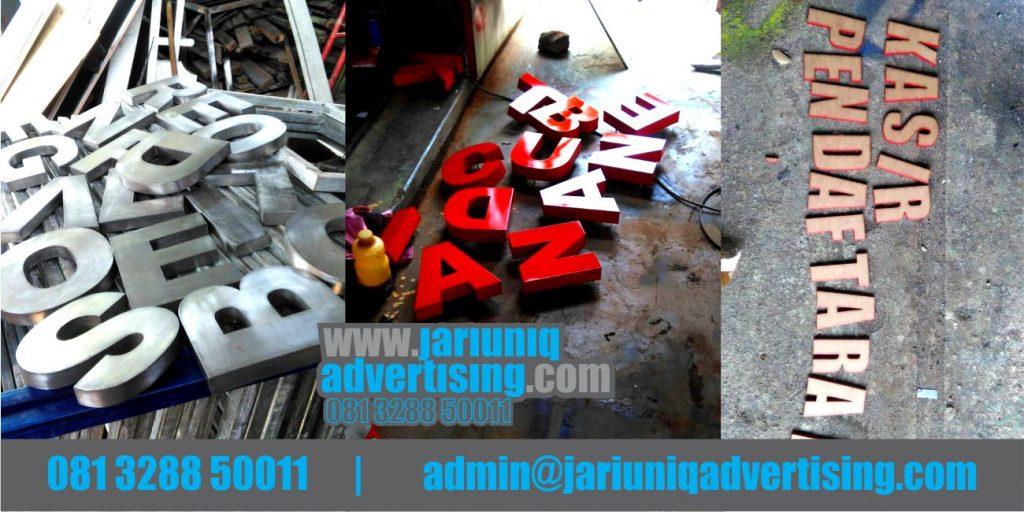 Jasa Advertising Jogja Huruf Timbul Galvanis Di Bantul