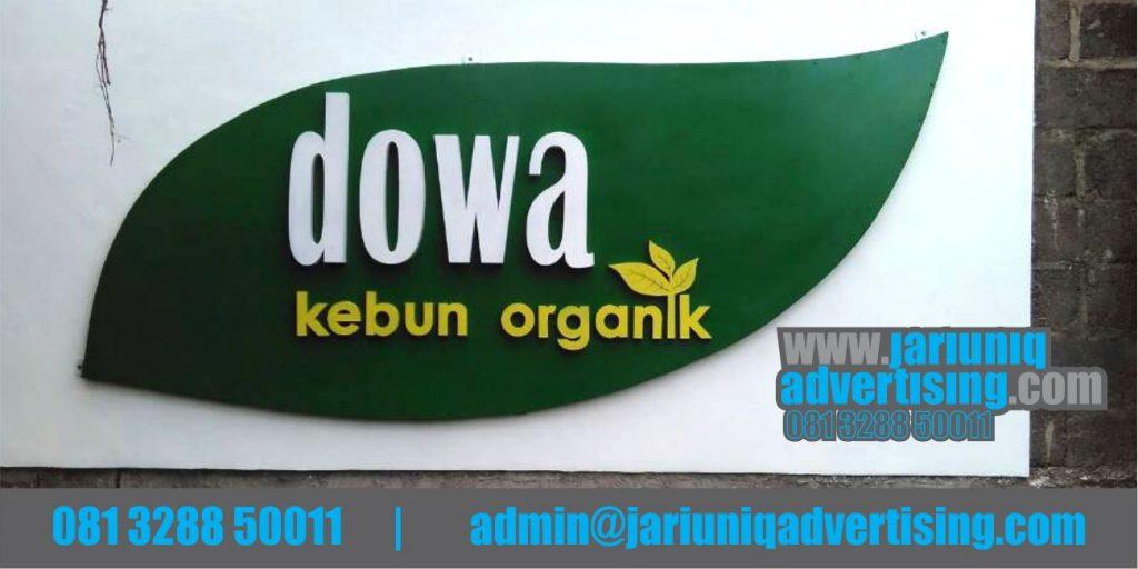 Jasa Advertising Jogja Huruf Timbul Galvanis Dowa Bantul