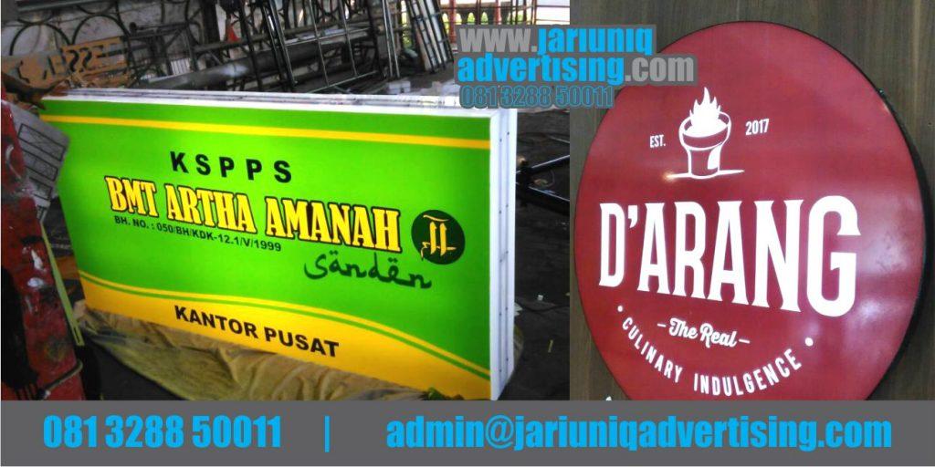 Jasa Advertising Jogja Neon Box Akrilik BMT Artha Amanah Di Bantul