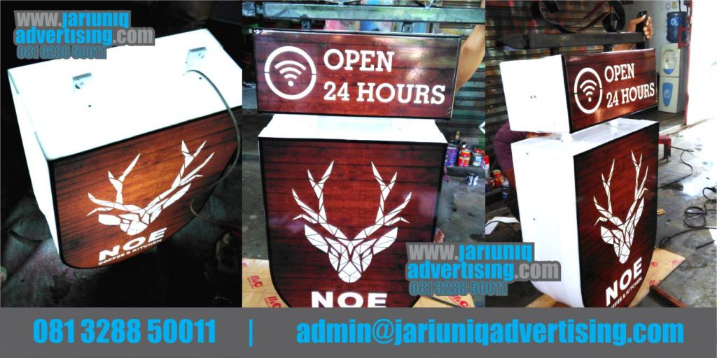 Jasa Advertising Jogja Neon Box Bantul