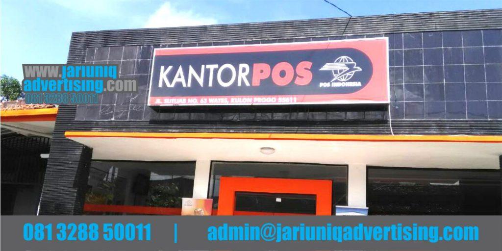 Jasa Advertising Jogja Neon Box Kantor Pos Indonesia Di Bantul